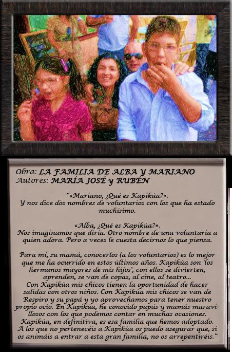 Familia Alba y Mariano